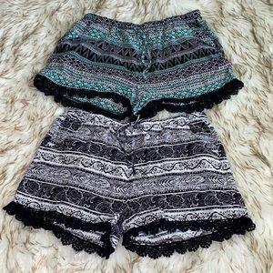 Tribal Print Shorts Bundle